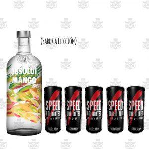ABSOLUT SABOR + 5 SPEED